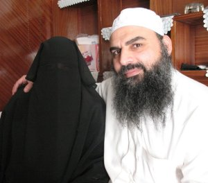 Abu Omar and wife